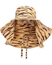 Rejina Pyo Exclusive To Mytheresa – Daisy Tiger-print Hat - Natural