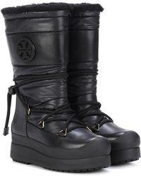 Tory Burch - Cliff Platform Boots - Lyst