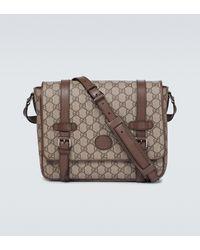 Gucci Messenger Bag GG Supreme - Braun