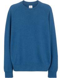 Visvim Sudadera Amplus de algodón - Azul