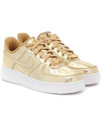 Nike Sneakers Air Force 1 - Metallizzato