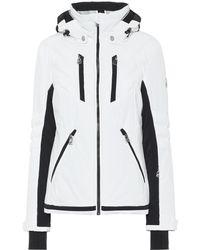 Toni Sailer Veste de ski Henni à capuche - Blanc
