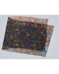 Dries Van Noten Pañuelo con estampado floral - Multicolor