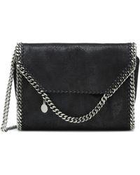 69284d62dd0e Stella McCartney  beckett  Shoulder Bag in Gray - Lyst
