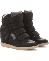 Isabel Marant Wedge-Sneakers Bekett - Schwarz