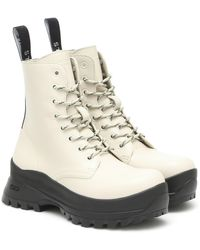 Stella McCartney Ankle Boots Trace aus Lederimitat - Mehrfarbig