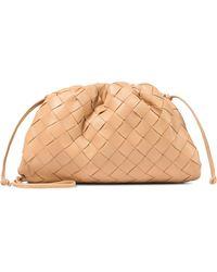 Bottega Veneta - Pochette The Mini Pouch en cuir intrecciato - Lyst