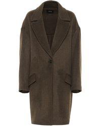 Isabel Marant - Ego Wool-blend Coat - Lyst