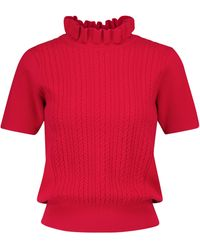 See By Chloé Pullover mit Wollanteil - Rot