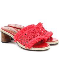 Altuzarra Tack Sandals - Red
