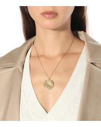 Alighieri Il Leone 24kt Gold-plated Necklace - Metallic