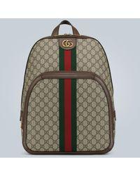 Gucci Zaino Ophidia in GG Supreme media - Multicolore