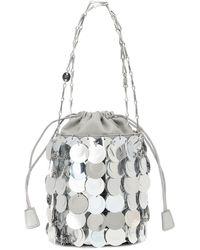 Paco Rabanne Sparkle 1969 Bucket Bag - Metallic