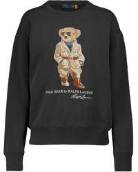 Polo Ralph Lauren Sweatshirt Safari Polo Bear - Schwarz