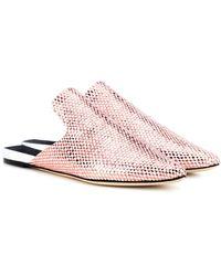 Sanayi 313 Bozza Metallic Woven Slippers