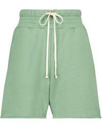 Les Tien Yacht Cotton Shorts - Green