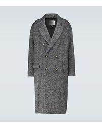 Isabel Marant Soward Double-breasted Coat - Grey