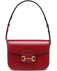 Gucci Bolso de hombro Horsebit 1955 - Rojo