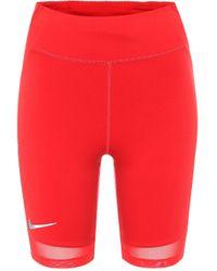 Nike Shorts City Ready - Rot