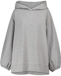 Dorothee Schumacher Exclusive To Mytheresa – Casual Coolness Cotton-blend Hoodie - Grey
