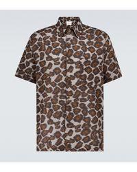 Nanushka Camisa estampada de manga corta Adam - Multicolor