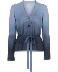 Brock Collection Cardigan Samira aus Kaschmir - Blau