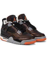 Nike Air Jordan 4 Retro Se Sneakers - Black