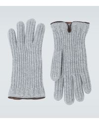 Loro Piana Handschuhe aus Kaschmir - Grau