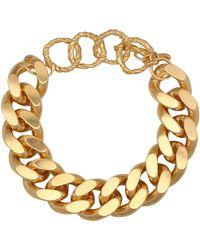 Elhanati Bracelet Tipi en argent plaqué or 24 ct - Métallisé