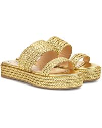 Charlotte Olympia - Hackney Leather Sandals - Lyst