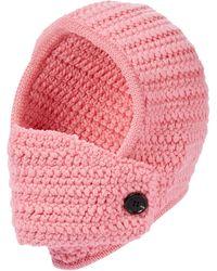 Miu Miu Mütze aus Wolle - Pink