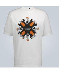 Undercover Vampire Graphic Printed T-shirt - White