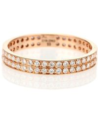 Repossi Berbere 18-kt Rose Gold Ring With Diamonds - Metallic