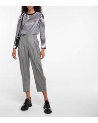 AMI Top Ami de Cœur à rayures en coton - Multicolore