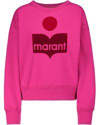 Étoile Isabel Marant Sweatshirt Mobyli aus Jersey - Pink