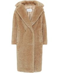 Max Mara Teddy Bear Icon Lamé Coat - Metallic