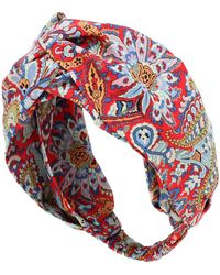 Etro Floral Headband - Red