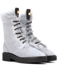 Stuart Weitzman - Jissika Suede Ankle Boots - Lyst