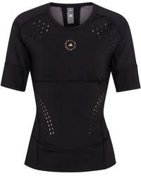 adidas By Stella McCartney T-Shirt TruePurpose - Schwarz