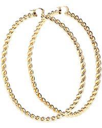 JW Anderson Hoop Earrings - Metallic