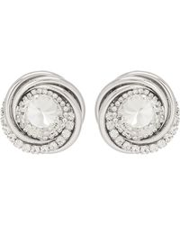 Alessandra Rich - Crystal-embellished Clip-on Earrings - Lyst