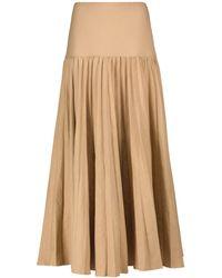 JOSEPH Sven Linen And Cotton Maxi Skirt - Multicolour