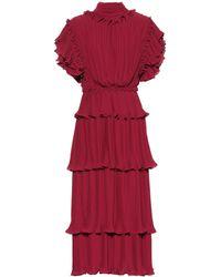 Johanna Ortiz - 'Chants' Kleid mit Rüschen - Lyst