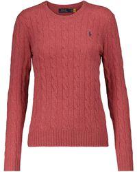 Polo Ralph Lauren Jersey de lana y cachemira - Rojo