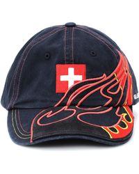 Vetements - X Reebok Embroidered Baseball Cap - Lyst