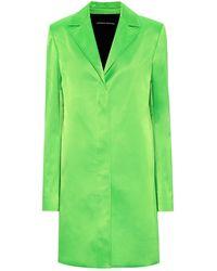 Kwaidan Editions Single-breasted Coat - Green