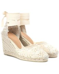 Castaner Espadrillas Carina in crochet - Multicolore