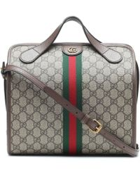 Gucci Mini Ophidia Gg Supreme Duffle Bag - Multicolour