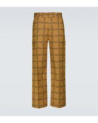 JW Anderson Hose aus Baumwolle mit geradem Bein - Natur