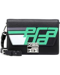 Prada - Elektra Leather Shoulder Bag - Lyst